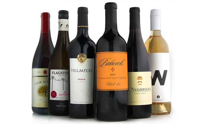 6237f3cee46 Hand-Selected Premium Wines - The Wine of the Month Club | Groupon