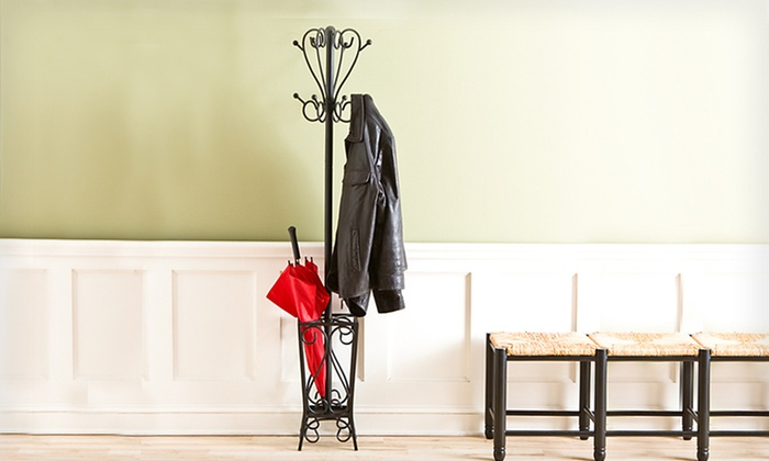 Seidal Coat Rack and Umbrella Stand: $59 for a Seidal Coat Rack and Umbrella Stand ($142.80 List Price). Free Shipping and Free Returns.