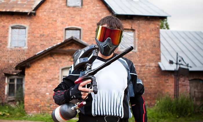 Futureball Paintball Inc. - Downtown South Lyon: Paintball Package w/ 100 Paintballs Per Person for One, Two, or Four at Futureball Paintball Inc. (Up to 53% Off)
