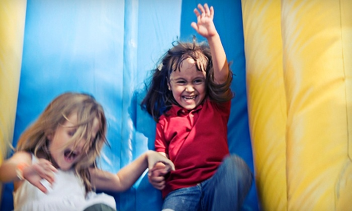 Space Walk of Greater New Orleans - Multiple Locations: Eight-Hour Bounce-House Rental from Space Walk of Greater New Orleans (56% Off). Four Options Available.