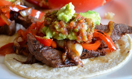 Taco Meal for Two or Four at Bull Horns Taco Bar (61% Off)