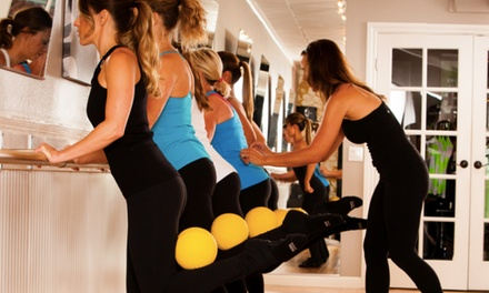 5 or 10 Barre Fitness Classes at Studio Barre - Newport (Up to 53% Off)
