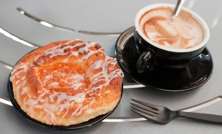 Three or Five Groupons, Each Good for $10 Worth of Coffee and Pastries at Mission Coffee Roasters