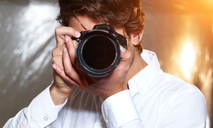 Champ Media Studio Llc - New York City: 4-Hour Photography Class Package with In-Studio Shoot at Champ Media Studio LLC (66% Off)