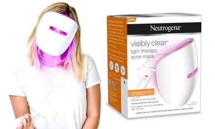 Masque de Luminothérapie Anti Acné et activateur Neutrogena Visibly Clear