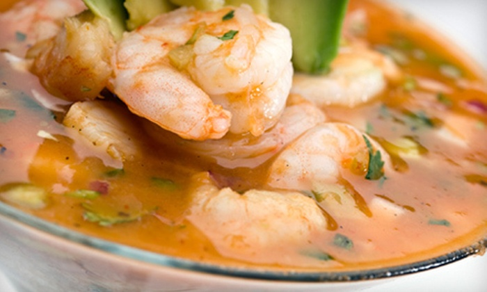 Basa Seafood Express - Mission: $11 for Ceviche and Salmon Burgers for Two at Basa Seafood Express ($21.98 Value)