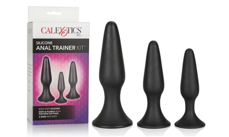 Cal Exotics Silicone Anal Trainer Kit (3-Piece) 86f8a16a-8812-11e7-b98b-00259069d868