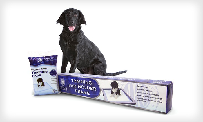AKC Puppy Training Pad Starter Kit: $19 for an AKC Puppy Training Pad Starter Kit ($59.99 List Price). Free Shipping and Free Returns.