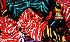 8 Count Cheer Gear: Cheerleading Hair Bows at 8 Count Cheer Gear (50% Off). Two Options Available.