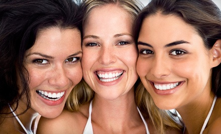 In-Office Teeth-Whitening with Whitening Pen or a Home Whitening Tray Kit at Luminosity (Up to 52% Off)
