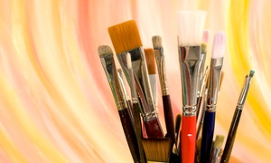 Norm's Palette: Two-Hour Painting Party for Two or Four at Norm's Palette (Up to 54% Off)