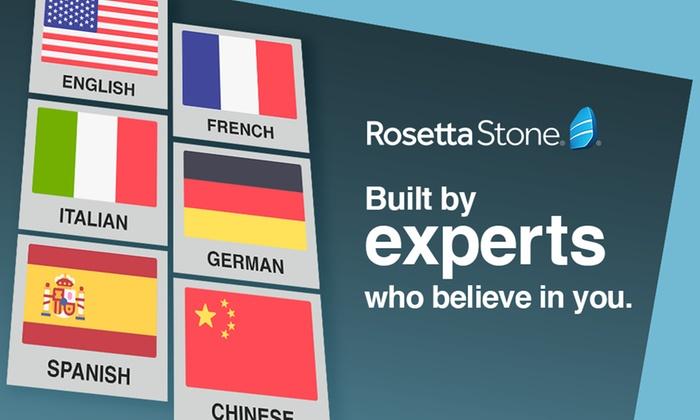 Rosetta Stone - From £29 | Groupon