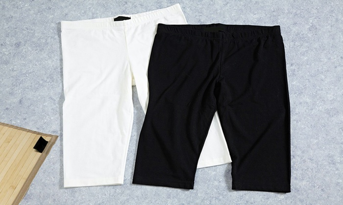 Knee-Length Yoga Shorts 3-Pack: $18.99 for a Knee-Length Yoga Shorts 3-Pack ($75 List Price). Multiple Options Available. Free Shipping and Returns.