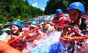 North Santiam River Trips: Full-Day or Half-Day Whitewater-Rafting Trip for Up to Six from North Santiam River Trips (50% Off)
