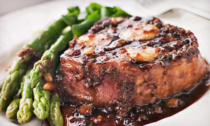 Brix & Stone Gastropub - Haymarket: $10 for $20 Toward Dinner for Two or More at Brix & Stone Gastropub