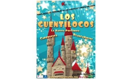 Entrada a 'Los Cuentilocos' del 18 de febrero al 25 de marzo por 8 € en Teatro Victoria