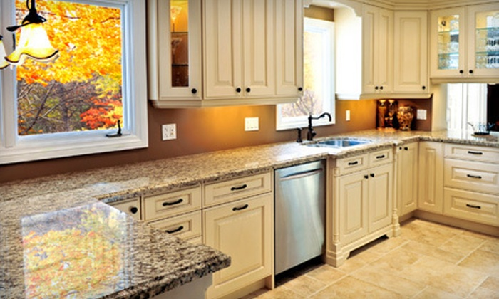 KraftMaid - Dobbs Ferry: Custom Home Cabinets from KraftMaid (Up to 75% Off). Three Options Available.