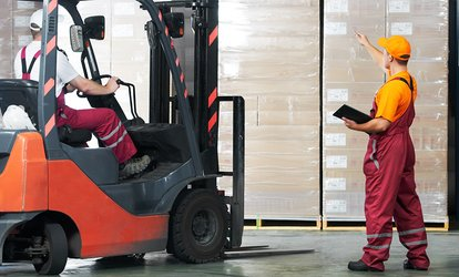image for Forklift Driving Course with Certification for One or Two at Forklift Training London (Up to 50% Off)