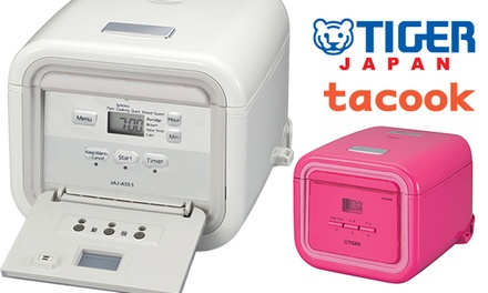 $168 for a Tiger JAJ-A55S Micro-Computer tacook Rice Cooker (worth $289). 2 Colours