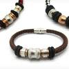 $15.99 for Men's Braided Leather Bracelet