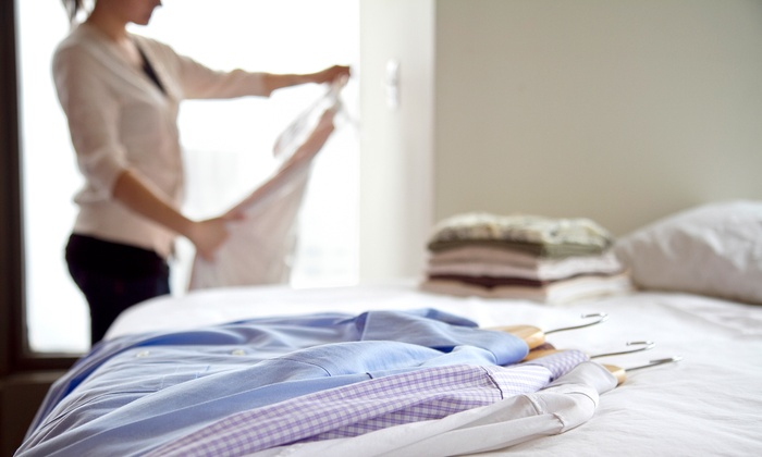 Shelton Family Cleaners - Old - Multiple Locations: Dry Cleaning at Shelton Family Cleaners (Up to 57% Off). Three Options Available.