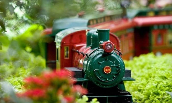 Chicago Botanic Garden - Glencoe: $35 for Wonderland Express Visit for Four with Parking at Chicago Botanic Garden (Up to $73 Value)