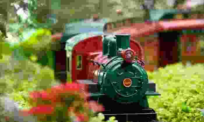 Chicago Botanic Garden - Glencoe: $35 for Wonderland Express Visit for Four with Parking at Chicago Botanic Garden (Up to $73 Value)