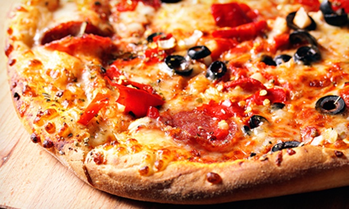 Pizza Factory - American River Estates: Pizza Meal with Salad, Breadsticks, and Meatballs, or $10 for $20 Worth of Pizzeria Food at Pizza Factory