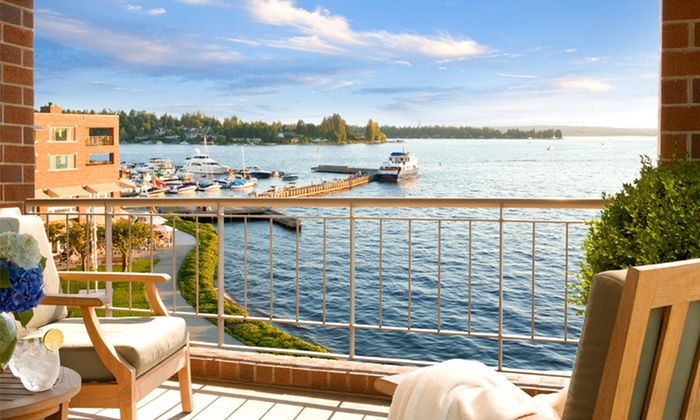 Woodmark Hotel - Greater Seattle Area: 1-Night Stay with Breakfast Credit and Valet Parking at Woodmark Hotel in Greater Seattle