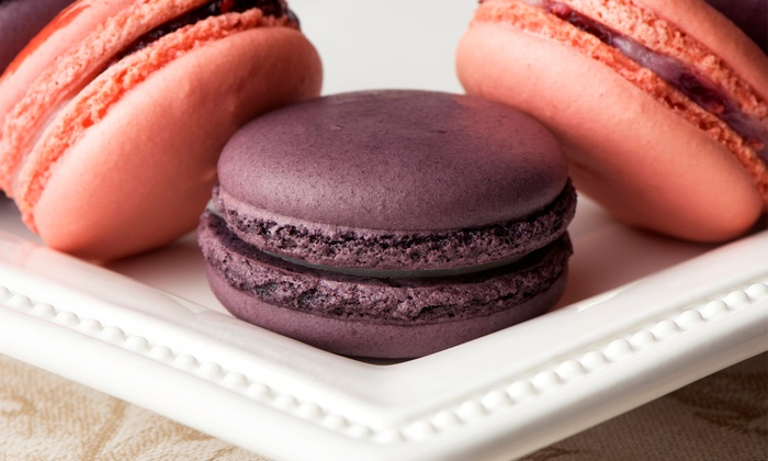 Macaronage Macarons - Stockton: 1- or 2-Dozen Gluten-Free Macarons or 4 Snow Fluffs with 2 Toppings Each at Macaronage Macarons (Up to 50% Off)