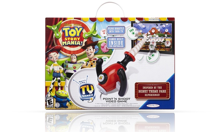 Toy Story Games To Play : Disney toy story mania plug n play game groupon