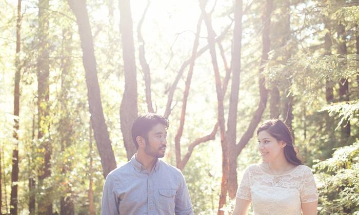 Linneth De La Rocha Photography - San Francisco: 60-Minute Engagement Photo Shoot from Linneth De La Rocha Photography (70% Off)