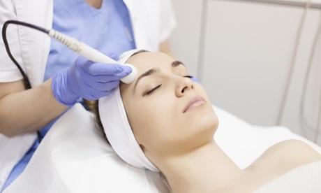 Limpieza facial con microdermoabrasión y opción a radiofrecuencia en Tu piel respira (hasta 82% de descuento)