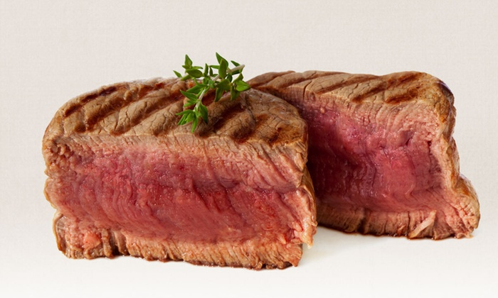 Club A Steakhouse - Midtown East: $76 for a Four-Course Steak-House Dinner for Two