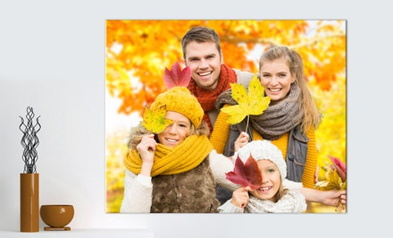 groupon daily deal - Custom Photo Print on Metal from PrinterPix. Multiple Sizes Available from $9.99–$19.99