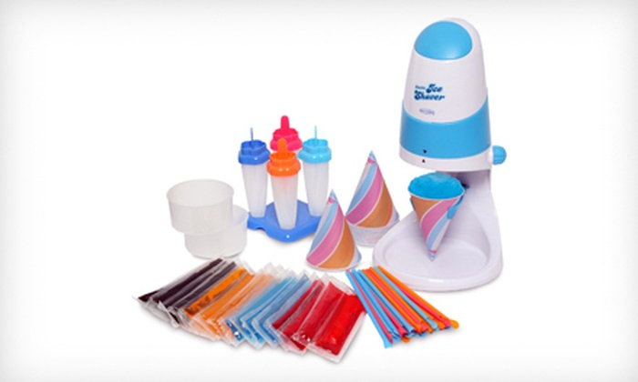Snow-Cone or Popsicle Maker: $24 for a Back to Basics Ice-Treats Party Pack or a West Bend Arctic Pops Ice-Treat Mold ($49.99 List Price)