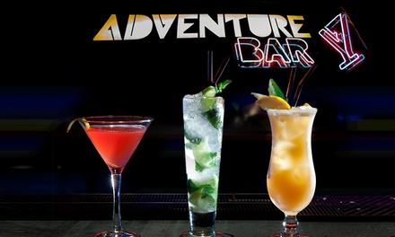Three or Six Cocktails at Adventure Bar, Three Locations (Up to 65% Off)
