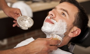 Kilted Buffalo Pub and Contemporary Barbershop: Men's Haircut with Optional Hot-Lather Shave at Kilted Buffalo Pub and Contemporary Barbershop (Up to 59% Off)
