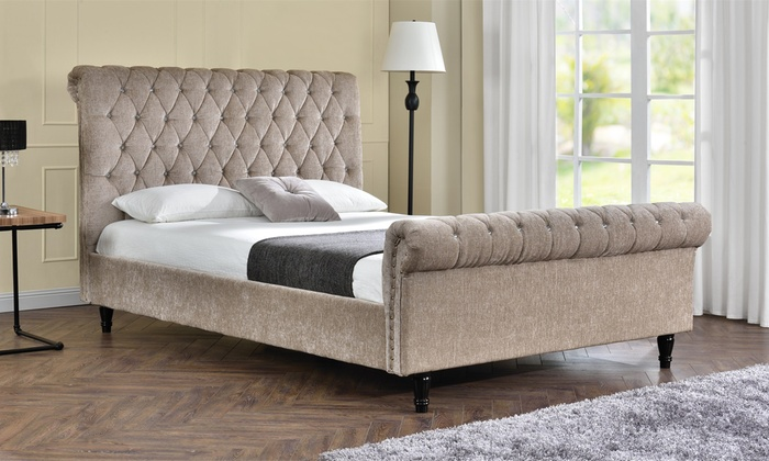 Tyrell Bedframe With Optional Mattress In Choice Of