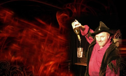 Merlin's Magic & Comedy Dinner Theatre for Two or Four at Rib Trader (Up to 50% Off)