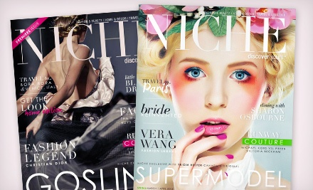 "One- or Two-Year Subscription to ""Niche Magazine"" (Up to 58% Off)"