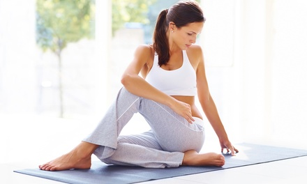 $49for Month of Unlimited Yoga at Oxygen Yoga & Fitness ($132Value)