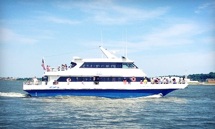 DC Harbor Cruises - Southwest Waterfront: $15 for a 90-Minute Happy-Hour Harbor Cruise from DC Harbor Cruises ($30 Value). 32 Cruise Times Available.