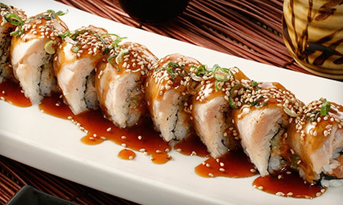 Amcook Fusion Cuisine - Amcook Fusion Cuisine: Sushi Meals for Two or Four at Amcook Fusion Cuisine (Up to 62% Off)