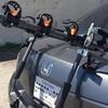 Universal Trunk Mount Bike Carrier for 3 Bikes