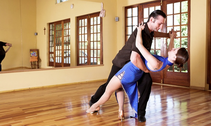 null - Downtown Fullerton: 5, 10, or One Month of Group Ballroom Dance Classes for All Ages at Fullerton Dancesport Center (Up to 88% Off)