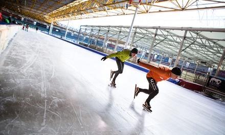 Dagkaart of familieticket om te schaatsen bij Sporttainment Center De Uithof