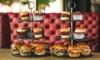 Prosecco Burger Afternoon Tea