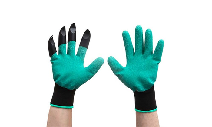 Gardening gloves with four claws groupon goods for Gardening 4 less groupon
