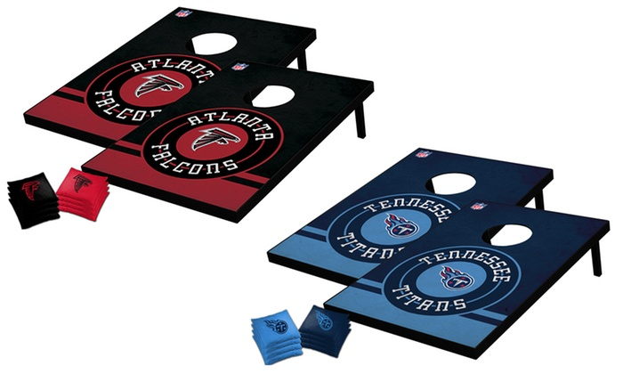 NFL Tailgate Toss Set with Matching Bags (Select teams only)